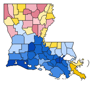 United States presidential election in Louisiana, 1960