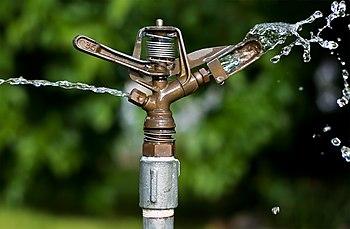 English: Impact Sprinkler Mechanism Français :...