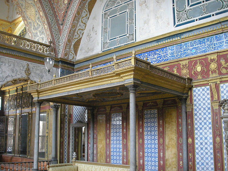 Palatul Topkapî o pagina a istoriei musulmane 800px-Imperial_Hall_Topkapi_2007_18