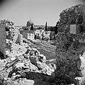 In Joodse wijk. Al Aqsa moskee in de verte. Tempelplein op de voorgrond, Bestanddeelnr 255-5374.jpg