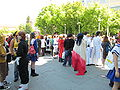 In front of SJ Convention Ctr during FanimeCon 2010-05-29 1.JPG
