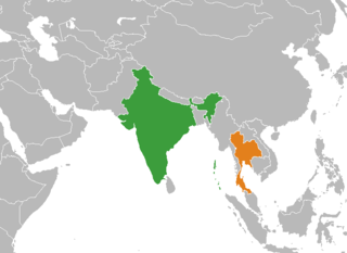 Diplomatic relations between the Republic of India and the Kingdom of Thailand