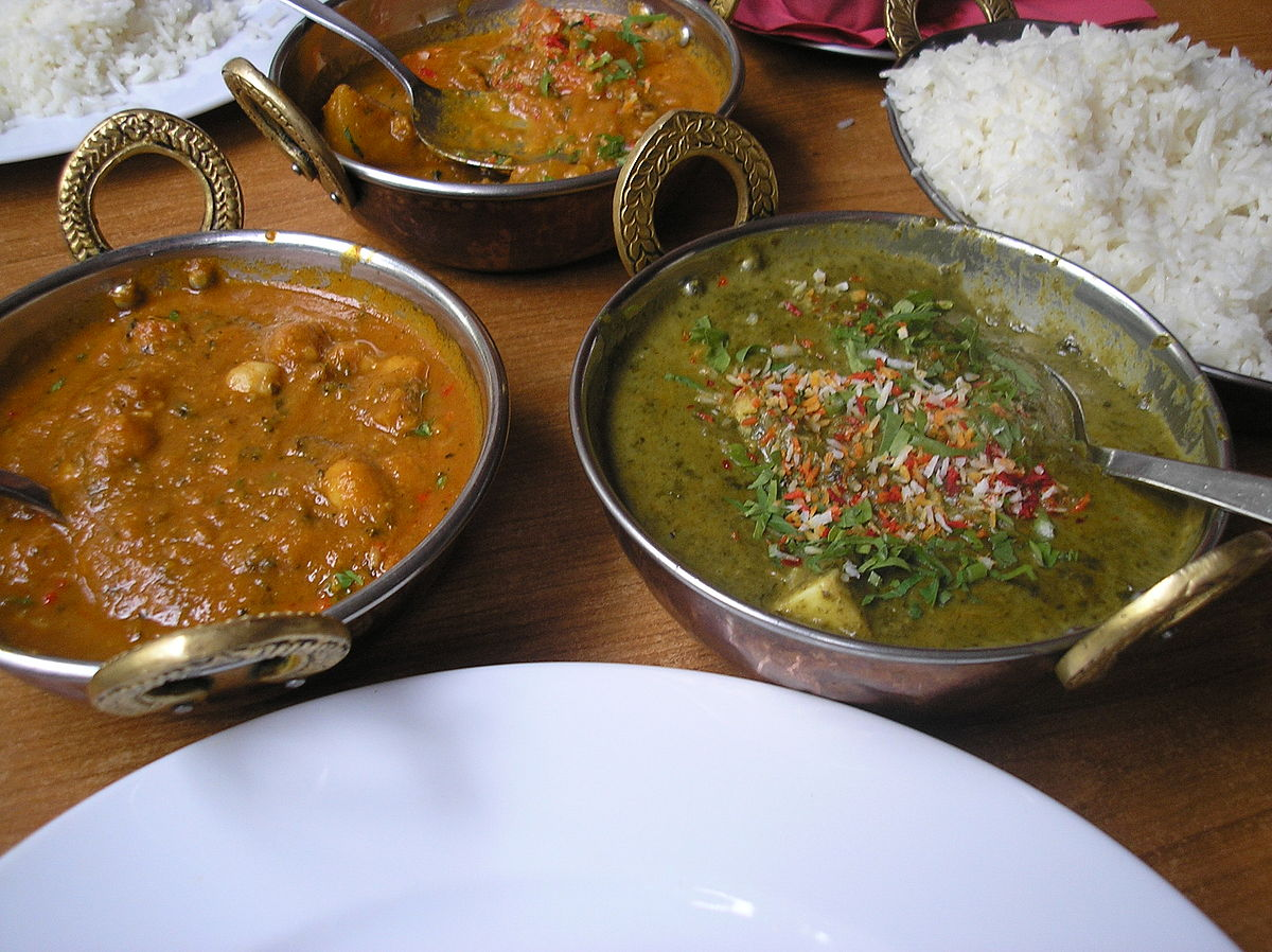 Indian Vegeterian dishes P7180106.JPG