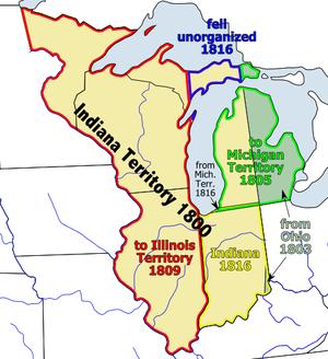 Organic Act - Image: Indianaterr
