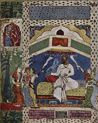 Ahmadnagar Sultanate - Image: Indischer Maler um 1565 001