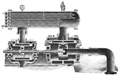 Ingersoll-Rand Class AA-2 air compressor cross section 1910.png