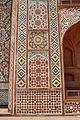 Inlay Panel - South Gateway - Northern Facade - Akbar Mausoleum Complex - Sikandra - Agra 2014-05-14 3689.JPG
