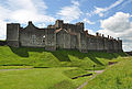 Inner bailey, Dover Castle from East.jpg