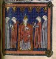 Innocent III condamnant Amaury de Chartres.png