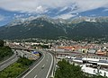 Innsbruck, stadszicht bij de rotonde-Resselstrasse foto8 2017-07-29 12.11.jpg