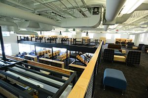 Concordia University School of Law - Image: Inside Law Library