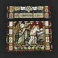 Interieur, detail gebrandschilderd glas-in-loodraam - Nes aan de Amstel - 20367708 - RCE.jpg