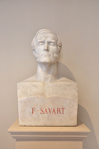 Félix Savart - Bust of Félix Savart in the Institut de France located in the 6th arrondissement of Paris