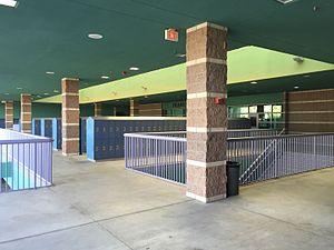 Palo Verde High School - Interior of the school