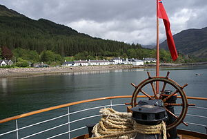 Inverie - Image: Inverie from PS Waverley
