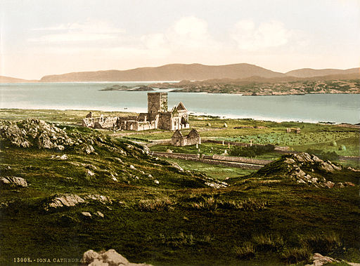Iona Cathedral, Iona, Scotland, ca. 1899
