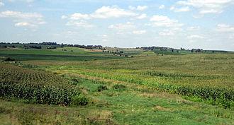 Interstate 80 in Iowa - Image: Iowa SIDP