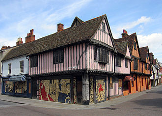 Ipswich - Timber-frame buildings in St Nicholas Street