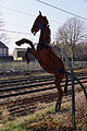 Iron Horse sculpture salient at Smethwick Rolfe Street 40.jpg