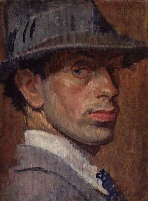 Isaac Rosenberg - Self-portrait of Isaac Rosenberg, 1915.
