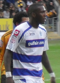 Ishmael Miller Hull City v. Queens Park Rangers 29-01-11 1.png
