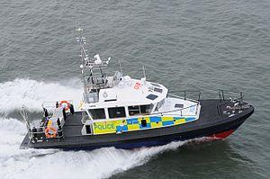 Island-class patrol vessel (2013) - Island-class Police patrol vessel aka 15m Police Boat