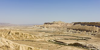 Negev - Ein Avdat in the Zin Valley in the Negev