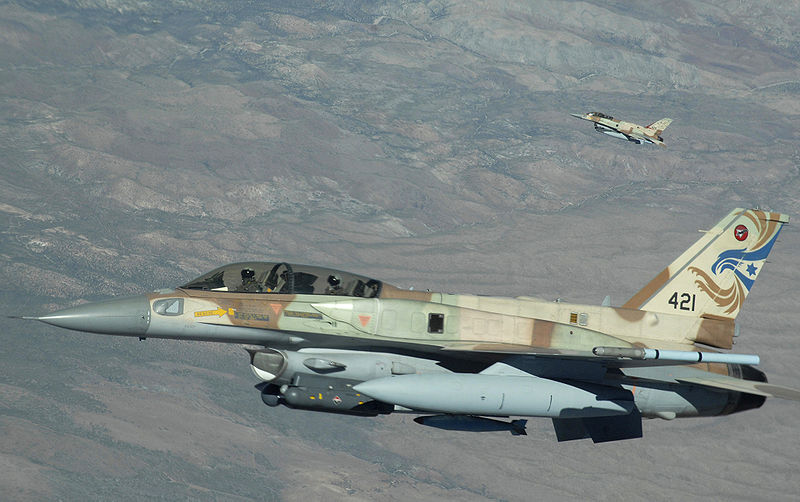 File:Israeli F-16s at Red Flag.jpg
