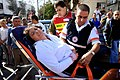 Israeli woman injured from Hamas grad rocket fired at Beer Sheva.jpg