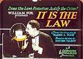 It Is the Law lantern slide.jpg