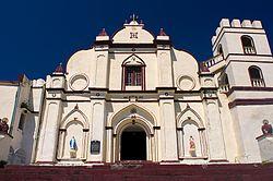 Facade of San Jose de Ivana Church