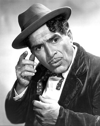 Dialect comedy - J. Carrol Naish in Life With Luigi 1950