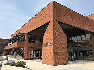 Coppin State University - J. Millard Tawes Student Center on campus