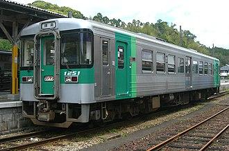JR Shikoku 1200 series - Car number 1251, May 2010