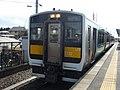 JR East Kiha E132-13 at Kami-Sugaya Station.jpg
