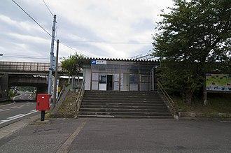 Nadachi Station - Nadachi Station in September 2011