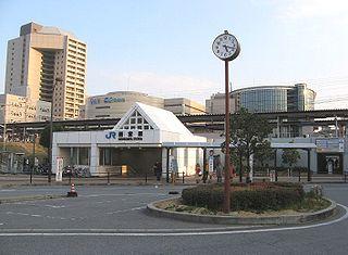 Nishinomiya Station (JR West) Railway station in Nishinomiya, Hyōgo Prefecture, Japan