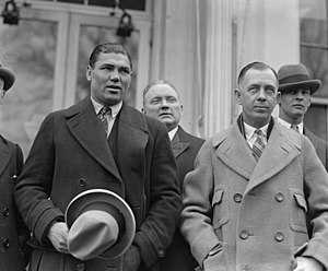 Jack Kearns - Jack Kearns (right) and Jack Dempsey