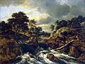 Jacob van Ruisdael - Waterfall in a hilly landscape.jpg