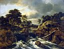 Jacob van Ruisdael - Waterfall in a hilly landscape.jpg