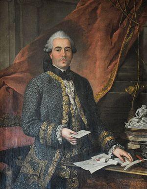 Jacques de Flesselles - Portrait of Jacques de Flesselles by Donat Nonnotte (Musée Carnavalet)