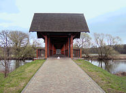 Jagdbrücke über die Mulde bei Dessau 2