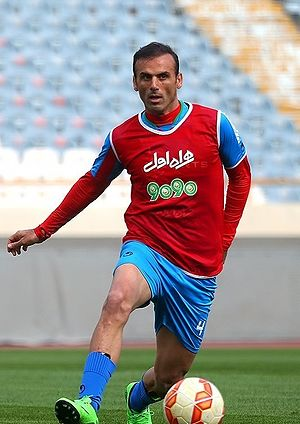 Jalal Hosseini - Hosseini in Iran training in 2016