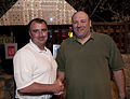 James Gandolfini in Kuwait City 2010.jpg
