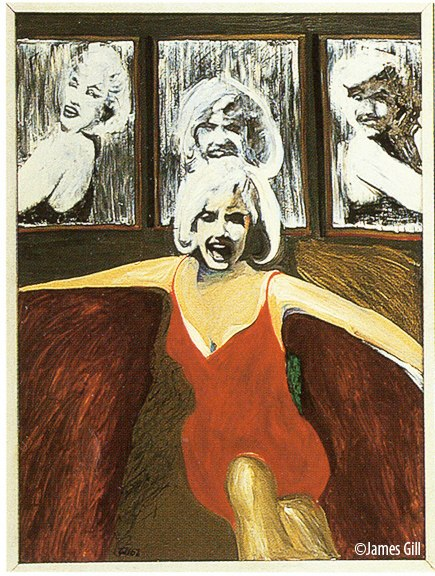 "James Gill's ""Marylin Tryptich"""