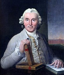 A portrait of Scottish doctor James Lind (