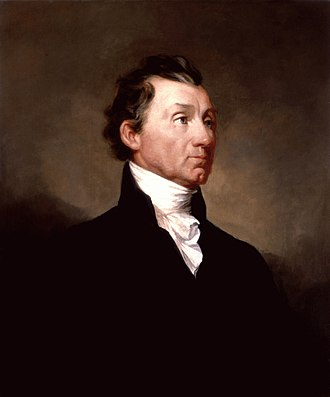 Democratic-Republican Party - Image: James Monroe White House portrait 1819
