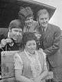 Jan Anne Drenth, Ben Cramer, Beer Bossu en Henny Vonk (1969).jpg