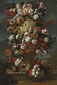 Jan Baptist Bosschaert - Flowers in a sculpted urn in a landscape.jpg