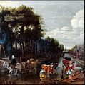 Jan Siberechts - Landscape with a Road, a Cart and Figures.jpg
